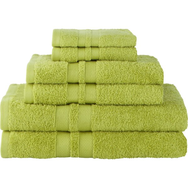 Patric Ultra Soft 6 Piece 100% Cotton Towel Set by The Twillery Co.